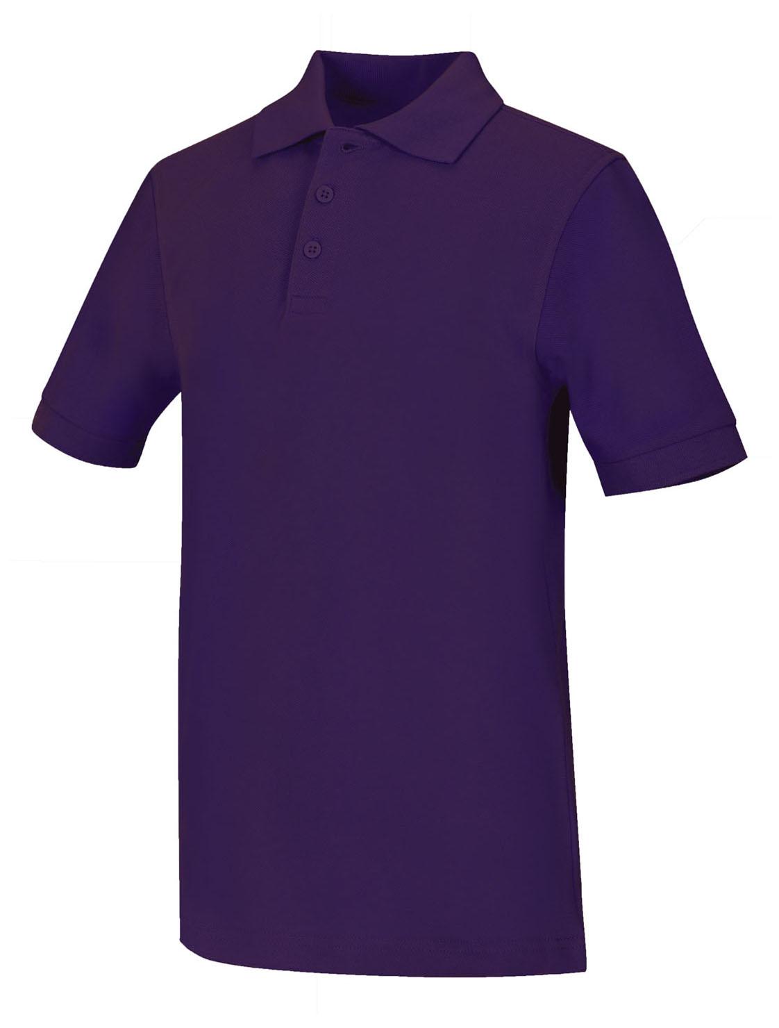 Classroom Big Boys Uniform Pique Short Sleeve Polo,Dark Navy,X-Small
